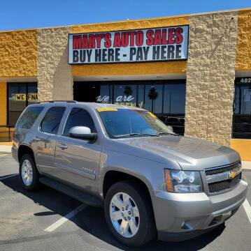 2007 Chevrolet Tahoe for sale at Marys Auto Sales in Phoenix AZ