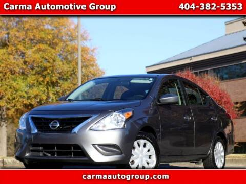 2018 Nissan Versa for sale at Carma Auto Group in Duluth GA