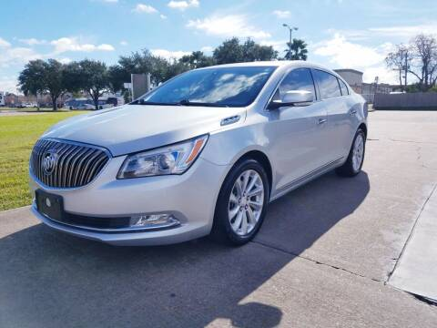 2016 Buick LaCrosse for sale at MOTORSPORTS IMPORTS in Houston TX