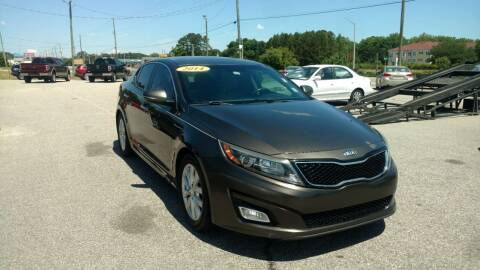 2014 Kia Optima for sale at Kelly & Kelly Supermarket of Cars in Fayetteville NC