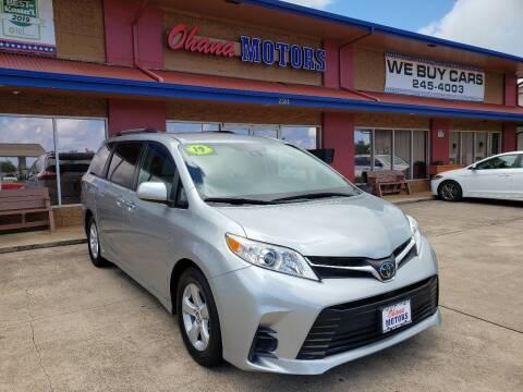 2019 Toyota Sienna for sale at Ohana Motors in Lihue HI