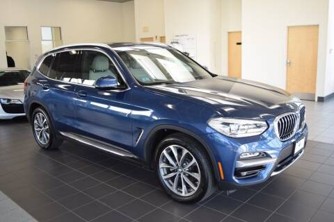 2019 BMW X3 for sale at BMW OF NEWPORT in Middletown RI