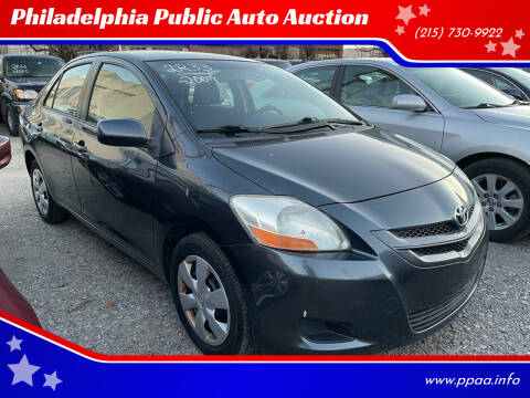 2007 Toyota Yaris for sale at Philadelphia Public Auto Auction in Philadelphia PA