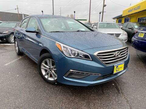 2015 Hyundai Sonata for sale at New Wave Auto Brokers & Sales in Denver CO