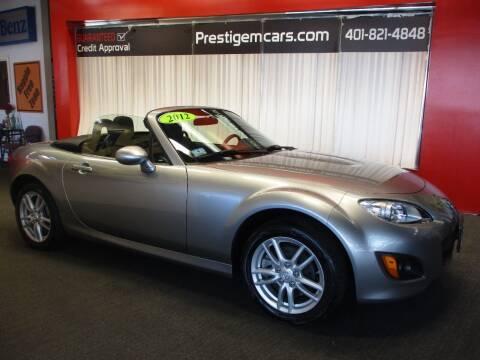 2012 Mazda MX-5 Miata for sale at Prestige Motorcars in Warwick RI