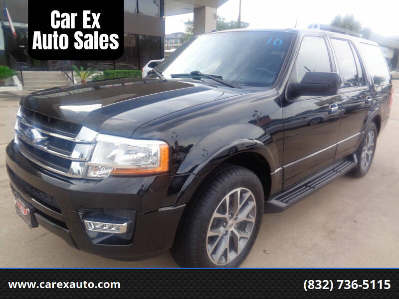2016 Ford Expedition for sale at Car Ex Auto Sales in Houston TX