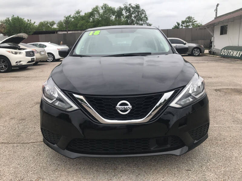 2018 Nissan Sentra for sale at SOUTHWAY MOTORS in Houston TX