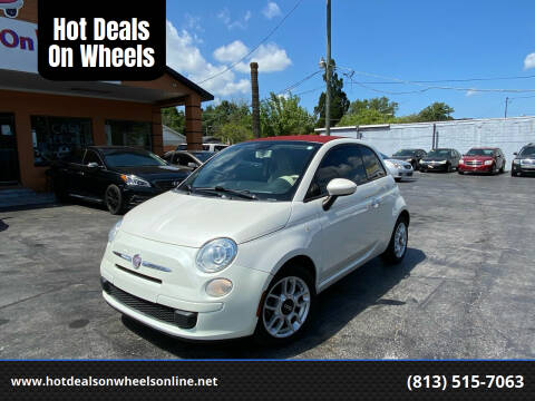 2012 FIAT 500c for sale at Hot Deals On Wheels in Tampa FL