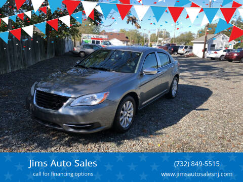 2012 Chrysler 200 for sale at Jims Auto Sales in Lakehurst NJ