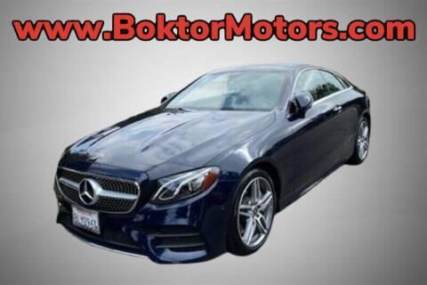 2019 Mercedes-Benz E-Class for sale at Boktor Motors in North Hollywood CA