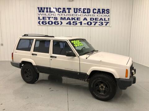2001 Jeep Cherokee for sale at Wildcat Used Cars in Somerset KY