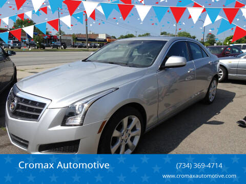 2014 Cadillac ATS for sale at Cromax Automotive in Ann Arbor MI