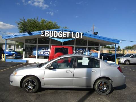 2005 Saturn Ion for sale at THE BUDGET LOT in Detroit MI
