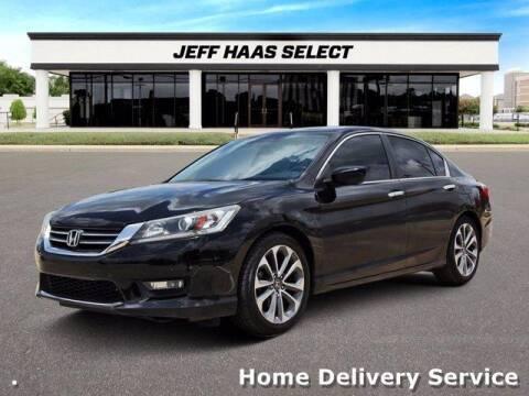 2014 Honda Accord for sale at JEFF HAAS MAZDA in Houston TX