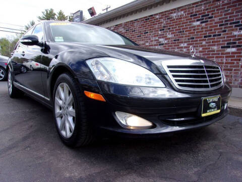 2007 Mercedes-Benz S-Class for sale at Certified Motorcars LLC in Franklin NH