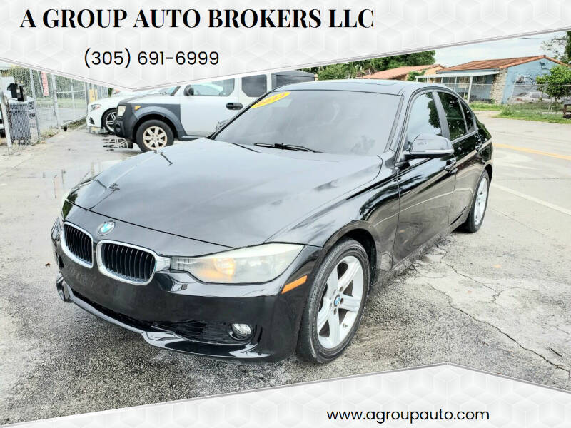 2013 BMW 3 Series for sale at A Group Auto Brokers LLc in Opa-Locka FL