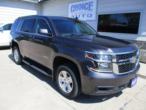 2017 Chevrolet Tahoe for sale at Choice Auto in Carroll IA