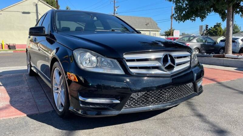 2012 Mercedes-Benz C-Class for sale at Tristar Motors in Bell CA