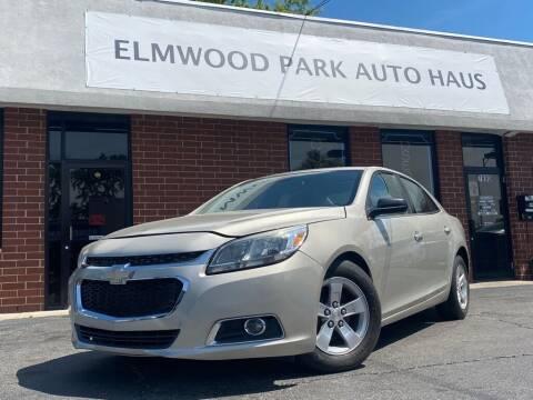 2014 Chevrolet Malibu for sale at Elmwood Park Auto Haus in Elmwood Park IL