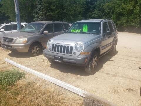 2005 Jeep Liberty for sale at Northwoods Auto & Truck Sales in Machesney Park IL