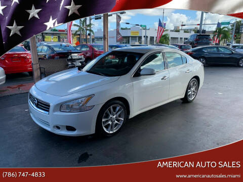 2014 Nissan Maxima for sale at American Auto Sales in Hialeah FL