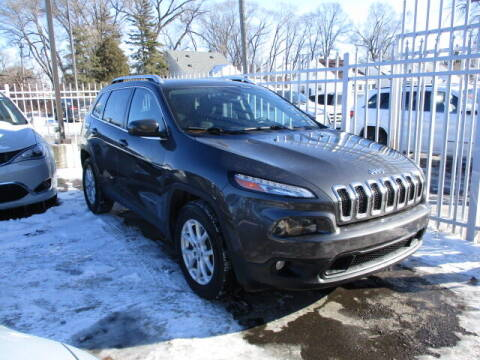 2015 Jeep Cherokee for sale at SOUTHFIELD QUALITY CARS in Detroit MI