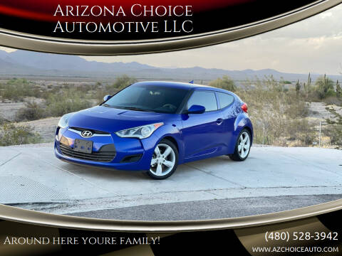 2014 Hyundai Veloster for sale at Arizona Choice Automotive LLC in Mesa AZ
