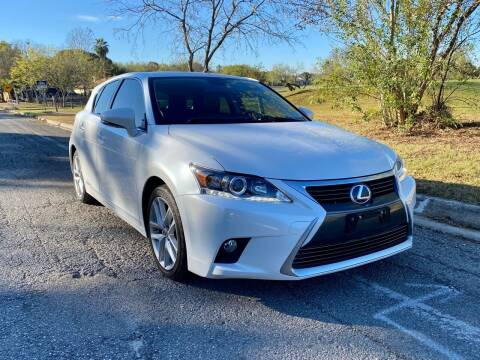2015 Lexus CT 200h for sale at Texas Auto Trade Center in San Antonio TX