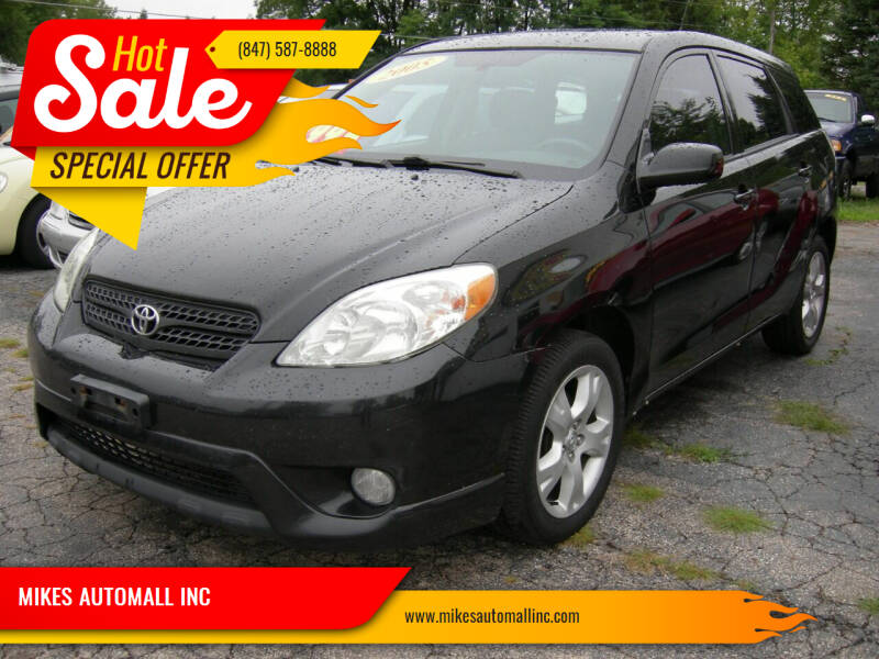 2005 Toyota Matrix for sale at MIKES AUTOMALL INC in Ingleside IL