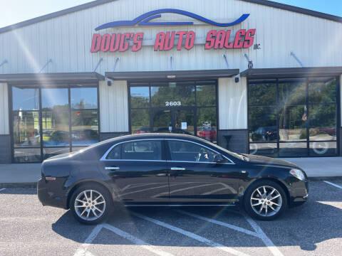 2008 Chevrolet Malibu for sale at DOUG'S AUTO SALES INC in Pleasant View TN
