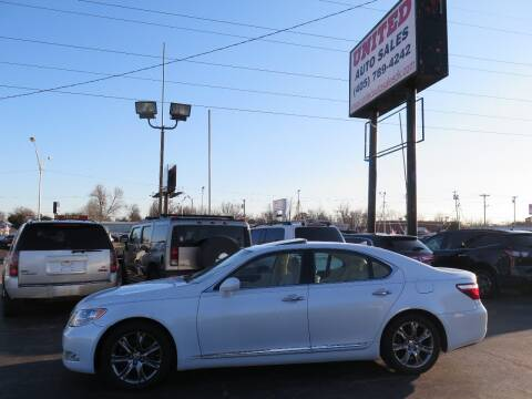 2007 Lexus LS 460 for sale at United Auto Sales in Oklahoma City OK