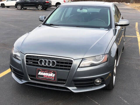 2012 Audi A4 for sale at Anamaks Motors LLC in Hudson NH