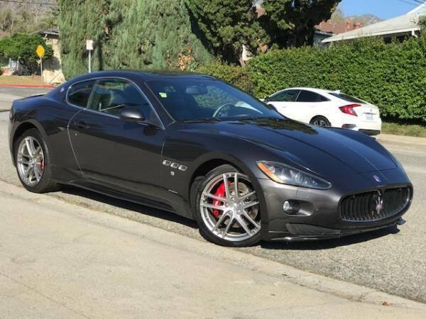 2012 Maserati GranTurismo for sale at CAR CITY SALES in La Crescenta CA