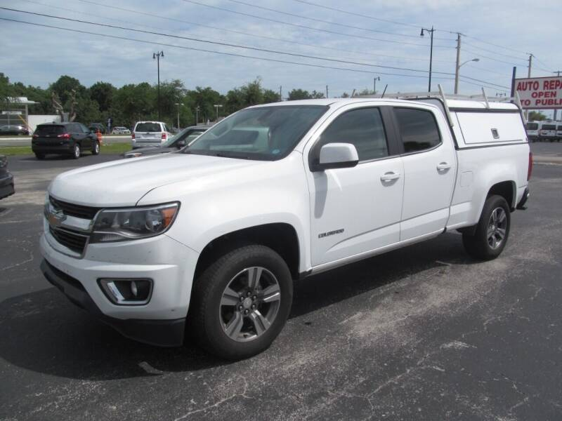 2017 Chevrolet Colorado for sale at Blue Book Cars in Sanford FL