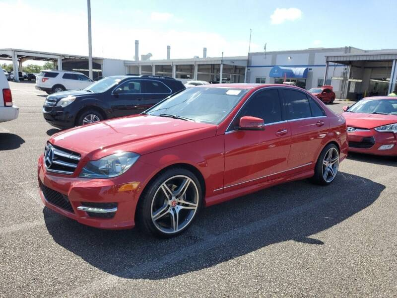 2014 Mercedes-Benz C-Class for sale at AUTO ALLIANCE LLC in Miami FL