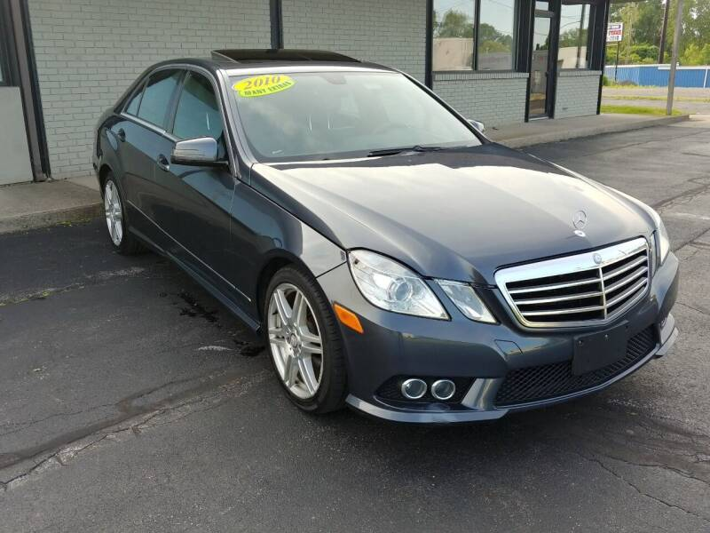 2010 Mercedes-Benz E-Class for sale at Elbrus Auto Brokers, Inc. in Rochester NY