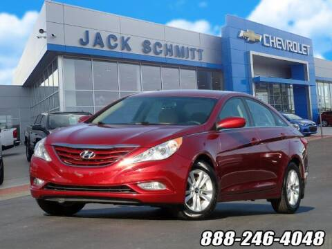 2013 Hyundai Sonata for sale at Jack Schmitt Chevrolet Wood River in Wood River IL