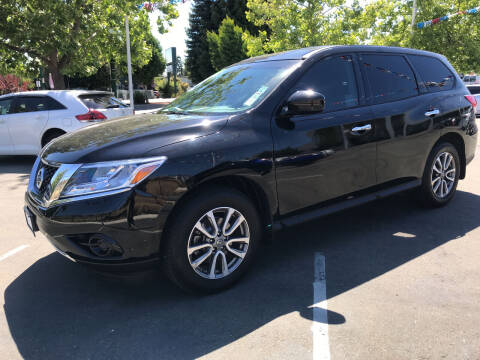 2014 Nissan Pathfinder for sale at Autos Wholesale in Hayward CA