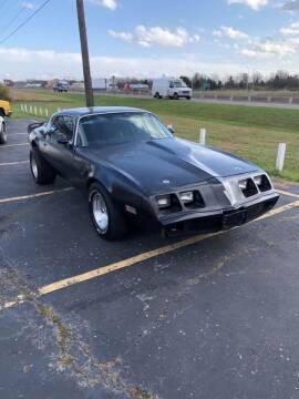 1979 Pontiac Trans Am for sale at Fair & Friendly Car & Truck Sales in Foristell MO
