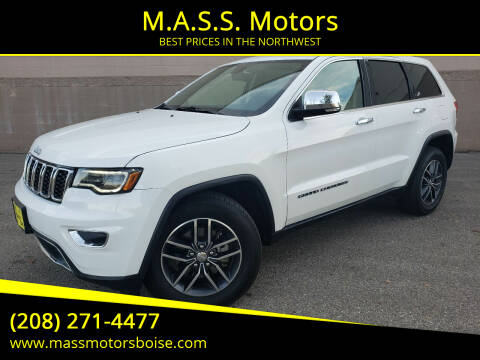 2017 Jeep Grand Cherokee for sale at M.A.S.S. Motors in Boise ID