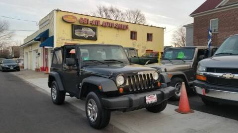 2007 Jeep Wrangler for sale at Bel Air Auto Sales in Milford CT