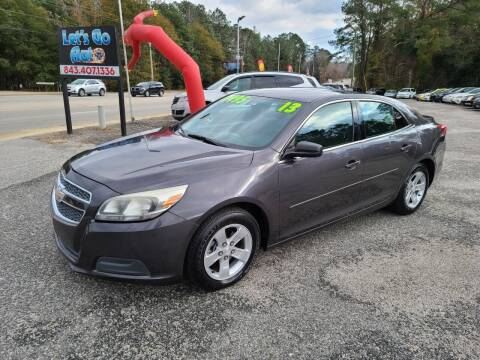 2013 Chevrolet Malibu for sale at Let's Go Auto in Florence SC