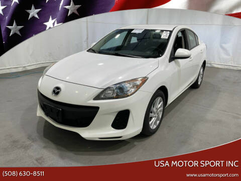 2012 Mazda MAZDA3 for sale at USA Motor Sport inc in Marlborough MA