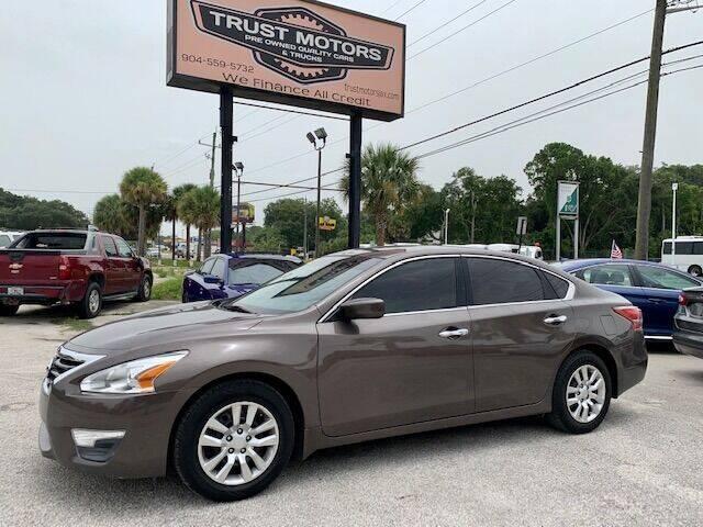 2013 Nissan Altima for sale at Trust Motors in Jacksonville FL