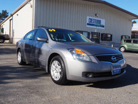 2009 Nissan Altima for sale at Crestwood Auto Sales in Swansea MA