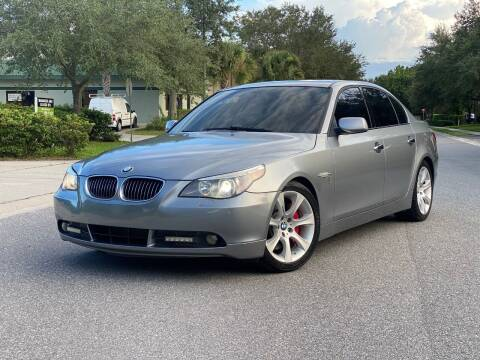 2007 BMW 5 Series for sale at Presidents Cars LLC in Orlando FL