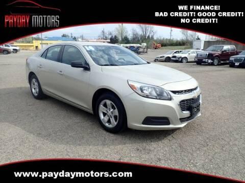 2014 Chevrolet Malibu for sale at Payday Motors in Wichita And Topeka KS