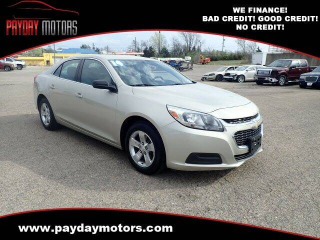 2014 Chevrolet Malibu for sale at Payday Motors in Wichita And Topeka KS