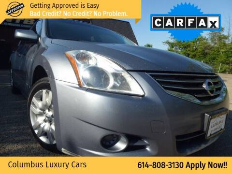 2012 Nissan Altima for sale at Columbus Luxury Cars in Columbus OH