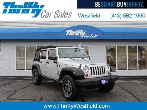 2009 Jeep Wrangler Unlimited for sale at Thrifty Car Sales Westfield in Westfield MA